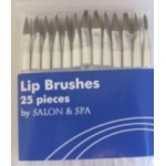 Disposable Lip Brushes PK/25