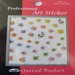 3D Sticker Assorted Styles Available
