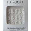 3D Sticker French Design with Gems (Lechat)
