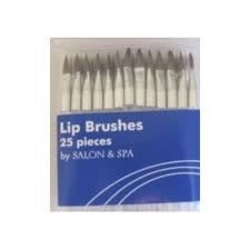 Disposable Lip  Brushes Pk/25 (Salon & Spa)