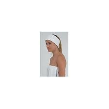 Head Band Terry Towel Standard - White
