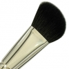 "Cheek Brush "" French Style"" Short Handle"