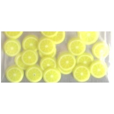 Nail Art 3D Fruit Lemon PK/24pc's