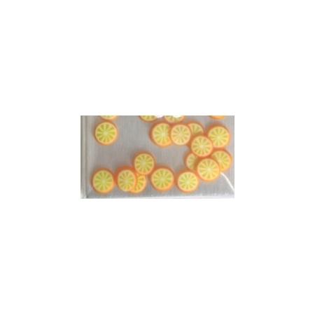 Nail Art 3D Fruit Tangerine PK/24's