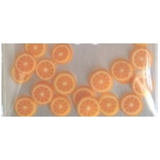 Nail Art 3D Fruit Orange PK/24's