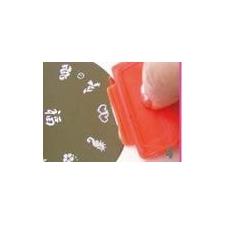 Nail Stamping Scraper