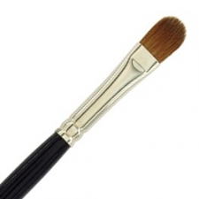 Dome Brush Sable 3/8""