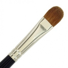 Dome Brush Sable 1/2""