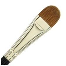 Dome Brush Sable 5/8""